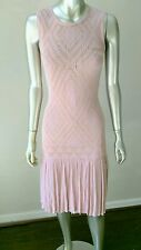 NWT TED BAKER DUSTY ROSE KNIT SCOOTER DRESS sz 1