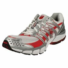 K-Swiss KONEJO II 92421190 Ladies White, Silver & Red Lace-up Trainers  (38A)