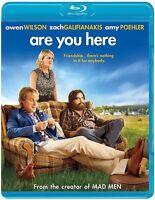 Blu-ray - Comedy - Are You Here - Owen Wilson - Zach Galifianakis - Amy Poehler