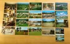 Lot of 20 Antique & Vintage Postcards ALL KIAMESHA LAKE, NY Golf SKATING Swim
