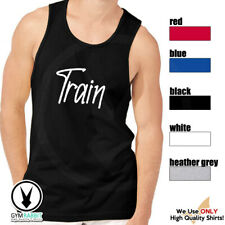 Train Gym Rabbit Men Muscle Tshirt Sleeveless Tank Fitness Workout E251