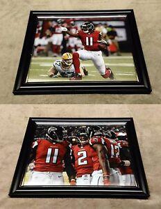 Julio Jones Matt Ryan Atlanta Falcons 8x10 Framed Photo