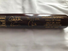 2020 MLB Hall of Fame Cooperstown Induction Bat 696/1000 Derek Jeter Walker