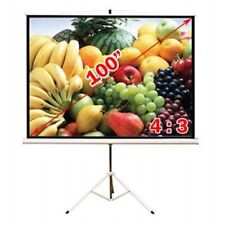 Antra™ PST-100B Tripod Compact Portable Projector Projection Screen 4:3 Matte Wh