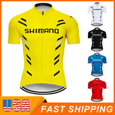 2021 Mens Bike Cycling Jersey Short Sleeve Tops Bicycle Shirt Maillots Pockets