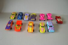 vintage toy hollow Car collection x 12 cars job lot (Tootsietoy or Playart)
