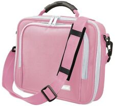 """HIGH QUALITY BRAND NEW TRUST 16834 PINK 10"""" NETBOOK NOTEBOOK CARRY CASE + STRAP"""