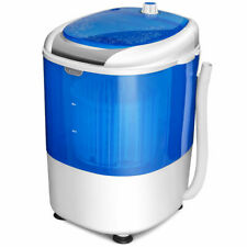 Portable Mini Counter Top Washing Machine 5.5lbs Spin Basket Laundry Washer
