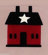 Stencil Primitive Saltbox House Overlay Crafts Signs Country