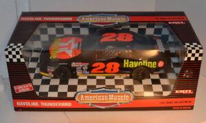 Davy Allison #28 Havoline Diecast-1/18 Scale- ErtlAmerican Muscle NASCAR Racecar