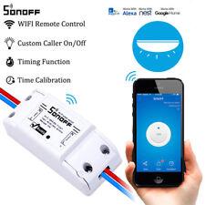 Sonoff Wifi Switch Relay Module AC 90V-250V 220V Wireless Light Timer Switch