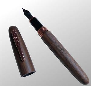 Conklin Fountain Pen All America L. E.Wood Walnut