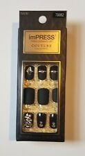 KISS: (1) Impress Couture Press on Nails Manicure ~ Lavish ~