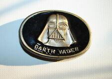 Star Wars Vintage Darth Vader Belt Buckle 1980 LFL LEE Co.     1217