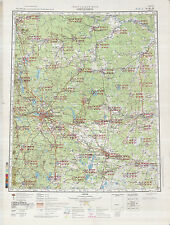 Russian Soviet Military Topographic Maps - SVERDLOVSK (Russia), 1:500K, ed.1981