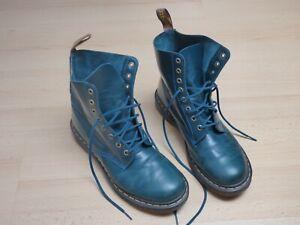 Dr. Martens Damen Stiefel Boots Schuhe in grün Größe EU 42