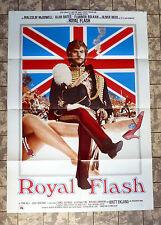 ROYAL FLASH * REED, MC DOWALL - A1-FILMPOSTER - German 1-Sheet 1975 Alan Bates