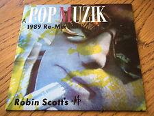 """M - POP MUZIK 1989 RE-MIX  7"""" VINYL PS"""