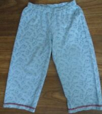 """Bhs 12-18 Mths COTTON SLEEP PANTS WITH PEPPA PIG """" OINK"""" PATTERN"""