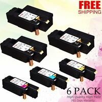 6Pack Toner  compatible with Xerox Phaser 6022 6020 106R02759 WorkCentre 6027