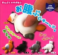 Ale Manpuku metabolic syndrome cat All 5 set Gashapon mascot toys