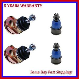 4Pcs Suspension Ball Joint Fits 2007-2008 Acura TL Type-S