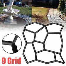 Garden Pavement Mold Walk Concrete Diy Cement Brick Stone Road Floor Path Maker