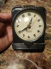 Vintage Art Deco Hammond Junior Synchronous Electric Clock Tested !