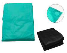 Snooker Pool Billiards Table Cover - Weighted - Green Black 7ft 8ft 9ft