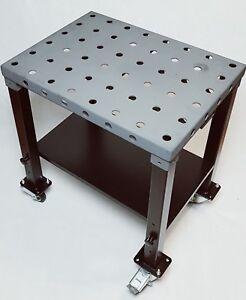 gehärtet 470 HV brüniert Schweißtisch Schweißvorrichtung fahrbare Werktisch