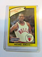 BULLS 1990 Kenner Starting Lineup Yellow Michael Jordan