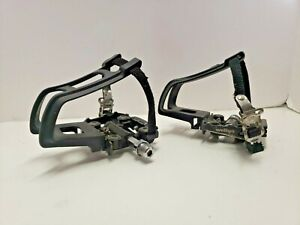 WELLGO M17 DUAL BICYCLE PEDALS-SHIMANO CLIP-IN SPD / FLAT PLATFORM WPD-M17C