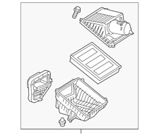 Genuine GM Air Cleaner Assembly 23252207