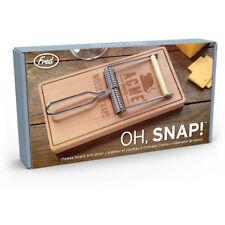 Fred-Oh, Snap! Ratonera Estilo Tablero y acero inoxidable máquina de cortar queso