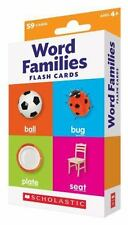 Flash Cards: Word Families (Paperback or Softback)