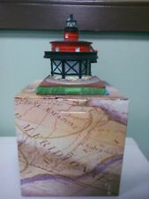 Scaasis Seven Ft Knoll Light, Lighthouse in Baltimore Maryland 281-2 collectable