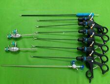 3mm Laparoscopic Special Grasper Forceps Trocar L-Hook Suction Instruments Set