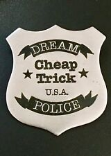 Cheap Trick - Metal Badge & 2 Feet Tall Promo Poster Stand Up'S Dream Police Lp