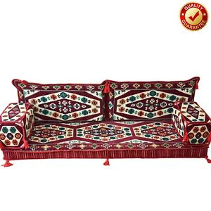 Oriental Floor Sofa Arabic Turkish Majlis Set Kilim Cushions Color Only Covers