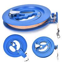 HOT16cm plastic+polyester Kite Line Kite String Line Reel Grip Wheel Handle k Nw