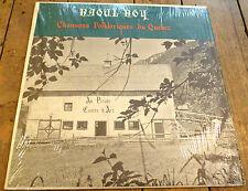 Rare Album LP vinyl Raoul Roy Chansons Folkloriques du Québec Vol. 1 ! Folk