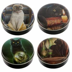 Lisa Parker Magical Cats Lip Balm in a Tin - 4 Fab Flavours to Choose from - NEW