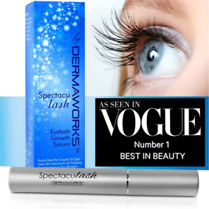 Rapid Lash Growth Serum Enhancer, Longer Lashes Thicker Eyelashes. SPECTACULASH