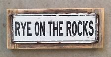 Rye On The Rocks Surfing Surf New Hampshire Vintage Metal Street Sign Home Decor
