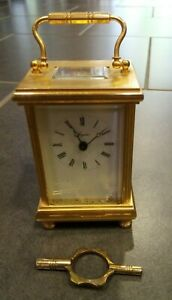 Angelus Carriage Clock w Movement and Key