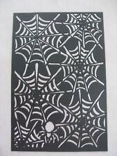 New listing New Halloween Plastic Stencil ~ Spider Web