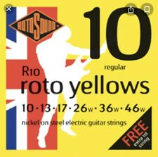 Rotosound Yellow 10-46 Guitar Strings