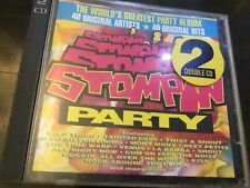 STOMPIN PARTY - VARIOUS - 2 X CD SET - JEFF BECK / WIZZARD / SOFT CELL / SLADE +