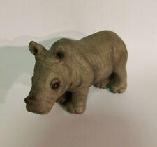 Sandicast Small Size Rhinoceros Sculpture Ss4010 Sandra Brue Artist