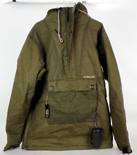 NWT Armada Zero Rankin Anorak Insulated Waxed Jacket Men's XL Olive Green